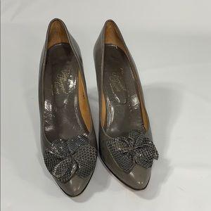 Vintage Polina Ferragamo Schiavone Heels